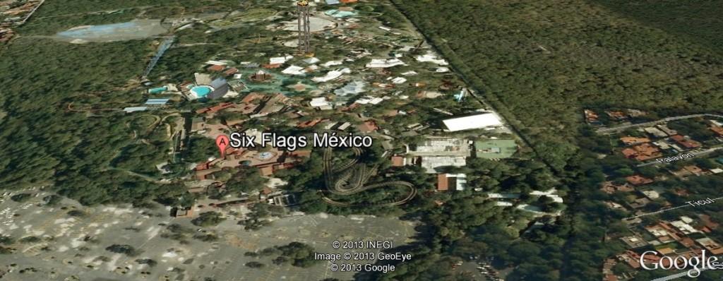 Six Flags - Parque temático do México