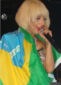 Show Lady Gaga Brasil
