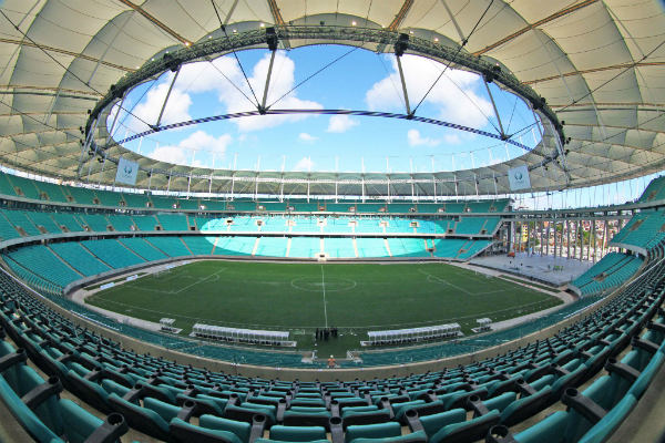 Hot is perto da arena fonte nova em salvador confira o mapa for Estadio arena
