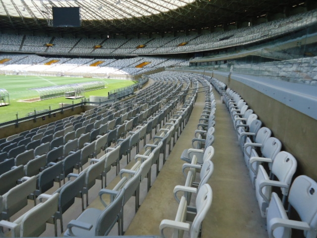 Estádio do Mineirão - arquibancadas