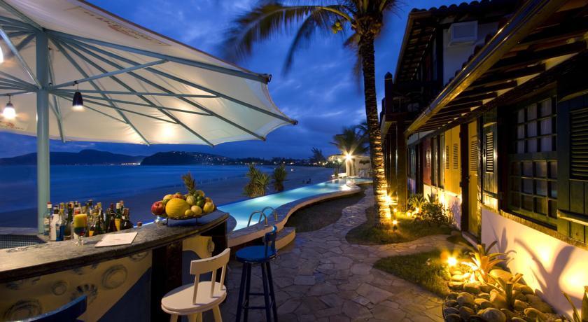 O Chez Pitu Praia Hotel está localizado na Praia de Geribá,