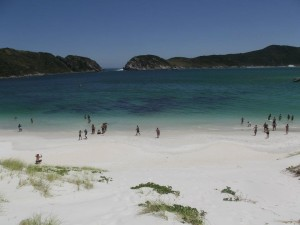 Praia em Arraial do Cabo - Cabo Frio