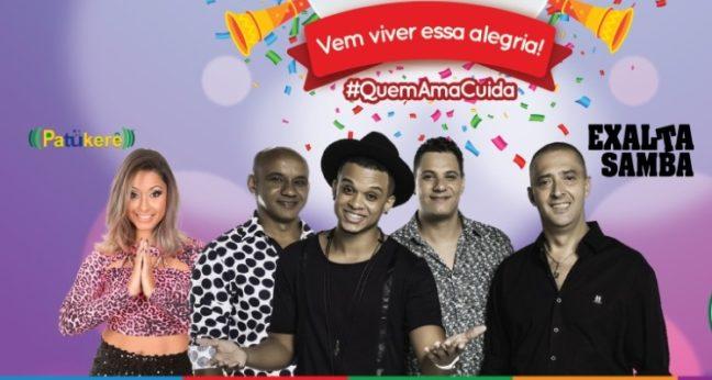 programação de shows carnaval sao lourenço 2018