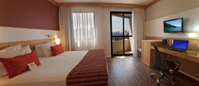 quarto do hotel quality faria lima