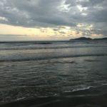Praia de Santos, fim de tarde
