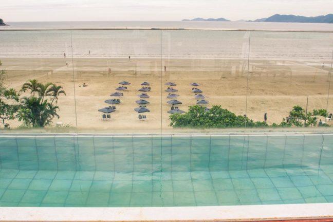 vista da pousada conca di mare