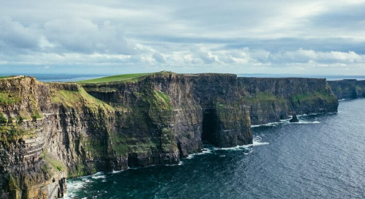 Cliff of Moher na Irlanda