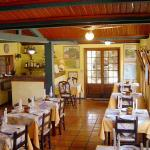 Hotel Pousada Esmeralda refeitório