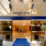 Entrada do Golden Tulip Belas Artes