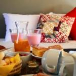Café da manhã Pousada Casa Campestre