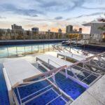 area de lazer Courtyard by Marriott Recife Boa Viagem