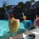 Piscina hotel fazenda vista alegre bar