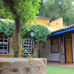 Jardim de pousada villa parahytinga