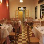 Restaurante de pousada villa parahytinga