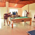 Salão de jogos do Sítio Castelinho
