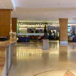 recepção do Hotel Novotel Center Norte