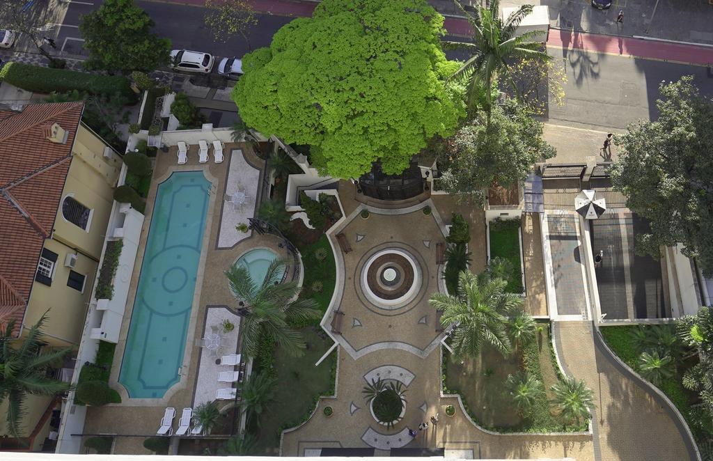 Vista de cima do Arai Residence home stay bela vista